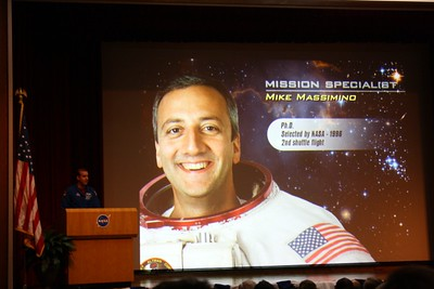 STS-125 Mission Specialist Mike Massimino