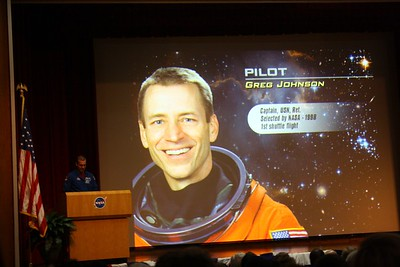 STS-125 Pilot Greg Johnson