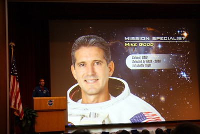 STS-125 Mission Specialist Mike Good