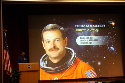 STS-125 Commander Scott Altman