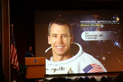 STS-125 Mission Specialist Drew Feustel