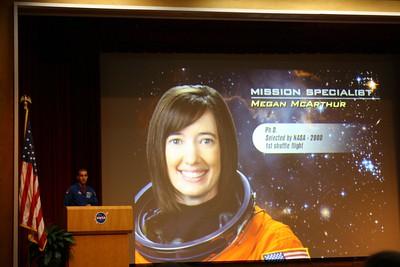 STS-125 Mission Specialist Megan McArthur