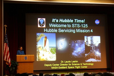 Dr. Laurie Leshin, Deputy Center Director for Science & Technology at NASA Goddard Space Flight Center