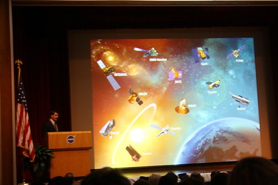 Dr. Jon Morse, Director of NASA's Astrophysics Division, describes NASA's space telescopes