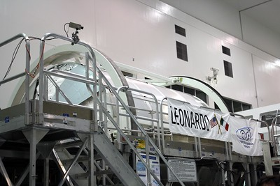 The Multi-Purpose Logistics Module Leonardo, developed by the Italian Space Agency