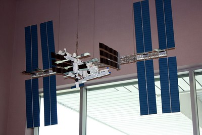 Model of the International Space Station