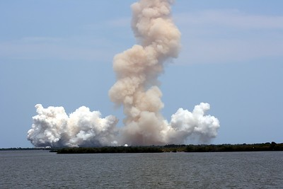 T plus 45 seconds after liftoff