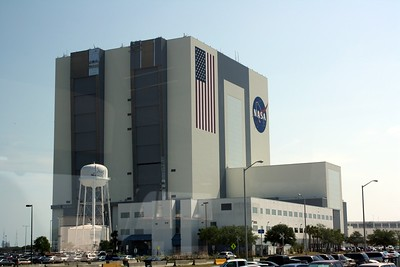 The Vehicle Assembly Building, the largest one-story building in the world