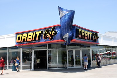 The Orbit Café, where the prices are astronomical