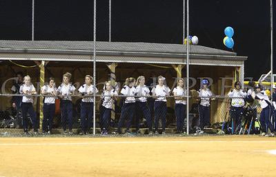 The Newburgh Free Academy (NFA) Goldback Girls Softball team crushing the Warwick Lady Cats on Wednesday, May 27, 2009, their final home game of the regular season, 4-1.