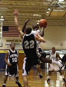 Newburgh Free Academy Boys Varsity Basketball hosted Pine Bush on Tuesday, January 10, 2009 at Newburgh Free Academy in Newburgh, NY. NFA defeated Pine Bush 71-51.