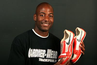 Athletic photo shoot; April 2009.