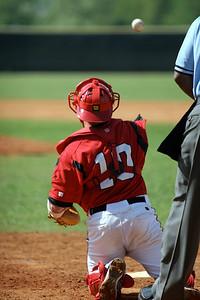Baseball game; April 30, 2009.
