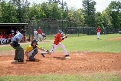 Baseball game; April 30, 2009.