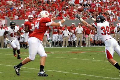 Football game vs. NC State; September 21, 2009.