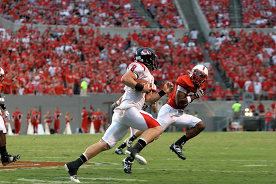 Football game vs. NC State; September 21, 2009.
