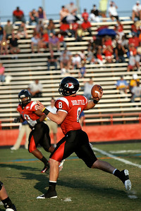 Football photos from Fall of 2009.