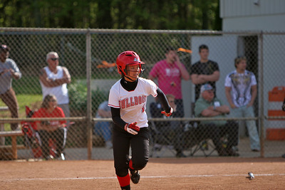 A game of GWU Softball; April 2009.