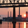 Sunset and the Tobin Bridge