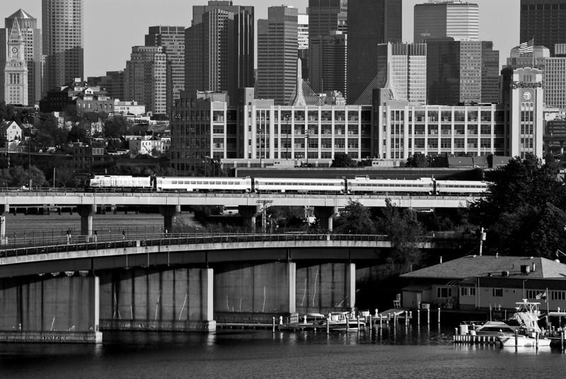 Vintage MBTA or at least B&W.