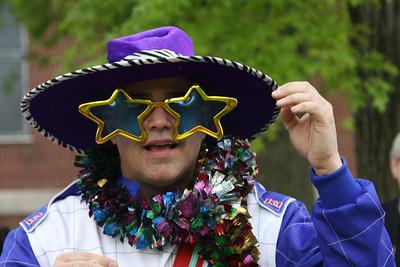 Racer Steve getting groovy.