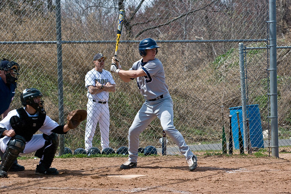 Tyler Jacobs (SS, #4), at bat