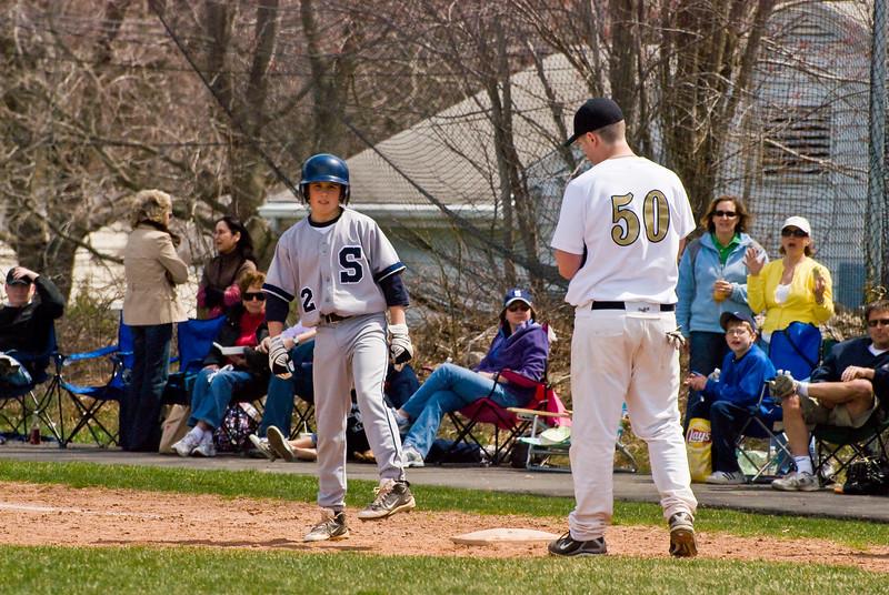 Staples JV Baseball (2009-04-17)