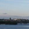 Stockholm vom Reisebus aus...