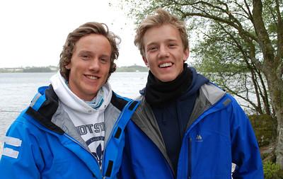 Anders Smedsrud og Fredrik Aasaaren (CR)