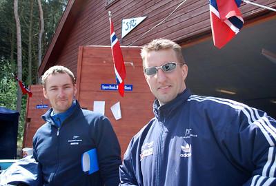 Trener Arne og Jone