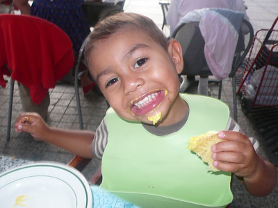 Lovin' the grilled cheese!