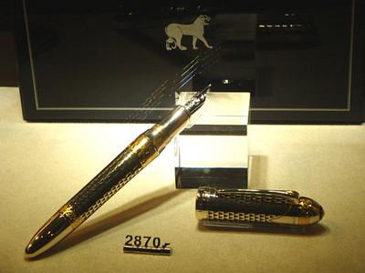 Zermatt is a playground of the rich. This pen cost around £1,600!