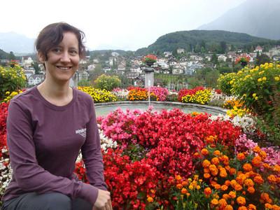 Jasmijn with flowers