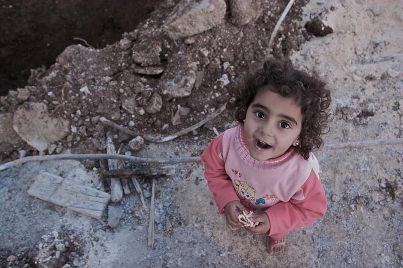 One of Ibrahim's nieces, Sara.