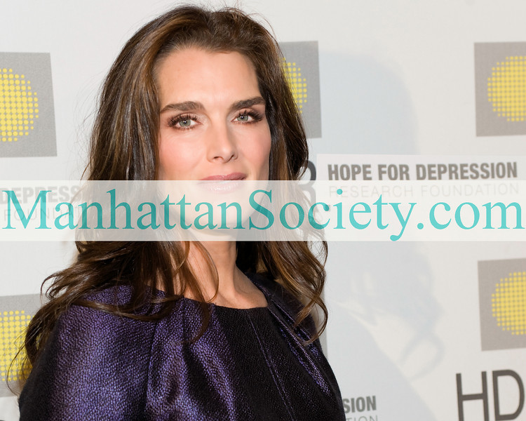 THE HOPE FOR DEPRESSION RESEARCH FOUNDATION Honors BROOKE SHIELDS with The Hope Award for Depression Advocacy at HDRF's 2009 Hope Seminar & Luncheon