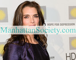 """NEW YORK-NOVEMBER 16: Brooke Shields attends The 2009 Hope For Depression Research Foundation Hope Seminar & Luncheon honoring Brooke Shields with The Hope Award for Depression Advocacy on Monday, November 16, 2009 at  """"10 on the Park"""", Time Warner Center, 60 Columbus Circle, New York City, NY.  (Photo Credit: ©Manhattan Society.com 2009 by Christopher London)"""