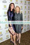 "NEW YORK-NOVEMBER 16: Actress Brooke Shields, HDRF Founder & Chairman Audrey Gruss attend The 2009 Hope For Depression Research Foundation Hope Seminar & Luncheon honoring Brooke Shields with The Hope Award for Depression Advocacy on Monday, November 16, 2009 at  ""10 on the Park"", Time Warner Center, 60 Columbus Circle, New York City, NY.  (Photo Credit: ©Manhattan Society.com 2009 by Christopher London)"