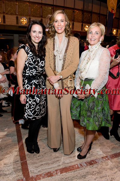 NEW YORK-DECEMBER 5:  Benefit Chairmen (L-R) Kristin Kennedy Clark, Julia Koch, Sharon Jacob attend THE NUTCRACKER FAMILY BENEFIT 2009 to Benefit New York City Ballet and the School of American Ballet on Saturday, December 5, 2009 at David H. Koch Theater, Lincoln Center, Columbus Avenue and 63rd Street, New York City, NY  (PHOTO CREDIT:Copyright ©Manhattan Society.com 2009 by Christopher London)