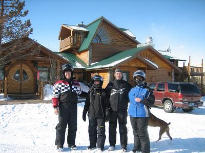 TOGWOTEE (WYOMING) SNOWMOBILE TRIP 2009
