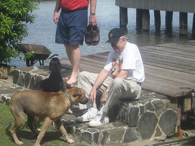 ken and canine friends - Andrew Gossen
