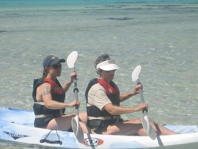 barbara and rebecca kayaking - Andrew Gossen