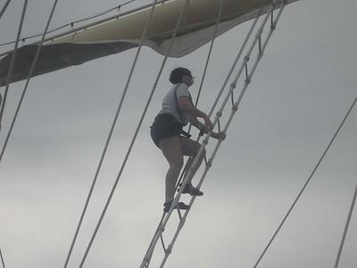 joanna climbs the mast - Andrew Gossen