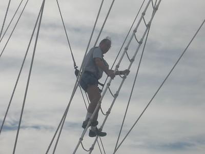 bill climbs the mast - Andrew Gossen