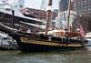 """Pride of Baltimore II"", a reproduction 1812-era Baltimore Clipper privateer"
