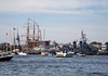 Approaching the Navy Yard