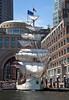 """The Dutch barque """"Europa"""" at Rowes Wharf"""
