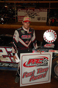 John Blankenship won the PRC Fast Time Award