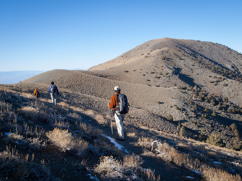Toward Rogers Peak