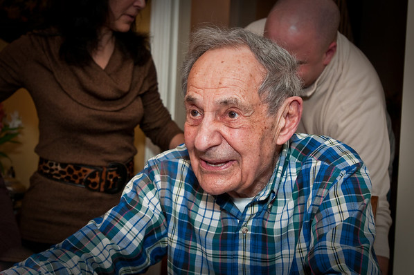 My grandfather, Popop, gives a Thanksgiving speech.