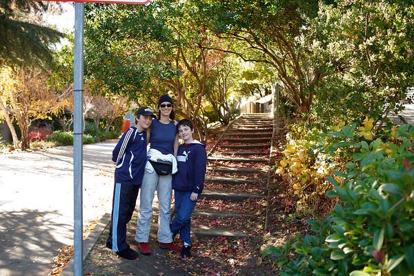 Thanksgiving Walk At Mount Modue 2009